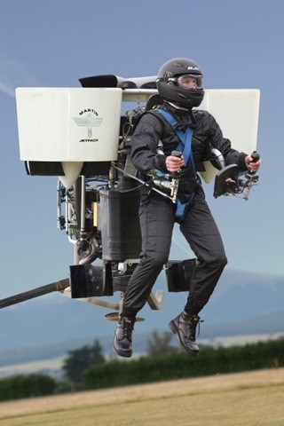 01-Jetpack-30 Minutes Of Flight Time-Gasoline Engine-Two Ducted Fans
