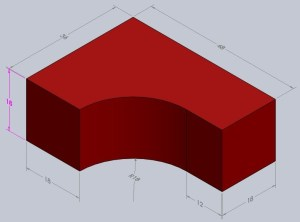 Free 3D CAD Models | AutoCAD Exercise Drawings | AutoCAD 2012 Exercises