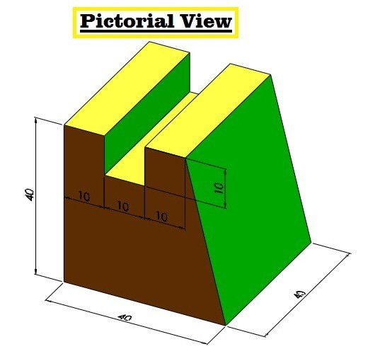 01-how-to-draw-orthographic-projection-in-autocad