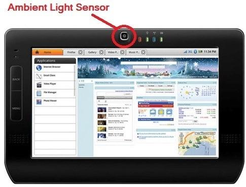01-ambient-light-sensor in mobile