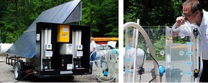 01-Portable Solar Power Plant-Water Purifier-Fuel Cell-Hydra Water Purifier-Puriying 87000 Liters Per Day Water