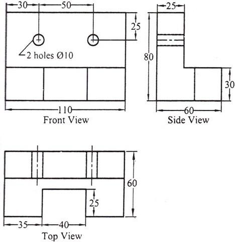 04-Free Autocad Drawings-Free Autocad Exercises-Free Autocad Blocks