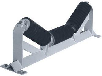 01-impact idlers-self aligning idler-training idler-troughed belt idler-carrying idler-types of idler-belt conveyor for bulk material handling