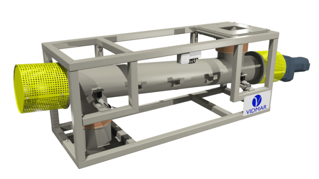 Continuous-feeding-by-screw-conveyor