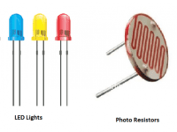 Opto Electronics Devices and its electronics applications - Lamps - LED - Photo resistors - Solar cells