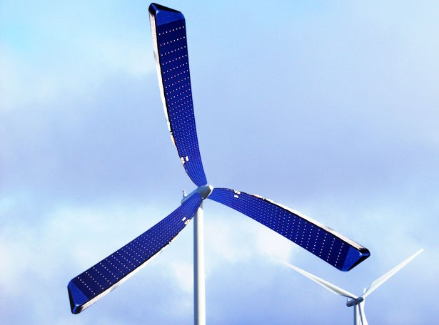 02-Solar-Powered-Wind-Turbine-Solar Powered Wind Spinner- Wind Turbine Solar Panels-Kinetic Wind Energy Generator Technology-Solar Wind Turbine