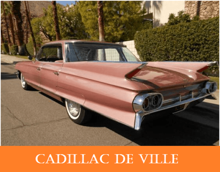 01 1960 vintage cars cadillac de ville   Why The 1960s Vintage Personal Cars Had Been So Popular Till Now?   1960s Vintage Personal Cars