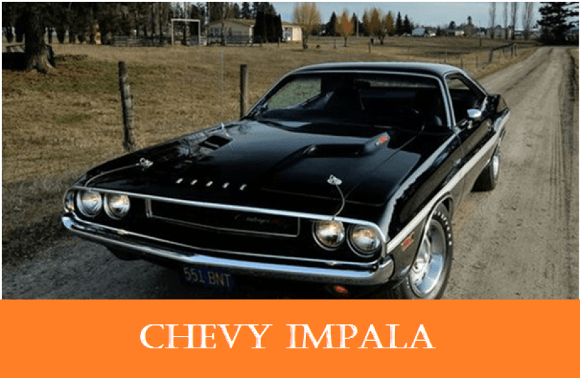 1960s Vintage personal cars - Chevy impala