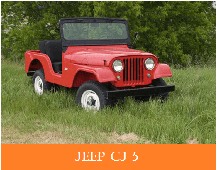 01 1960s vintage personal cars jeep cj5   Why The 1960s Vintage Personal Cars Had Been So Popular Till Now?   1960s Vintage Personal Cars