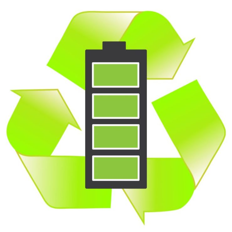 Recycled lithium ion battery cell - salvaged lithium batteries