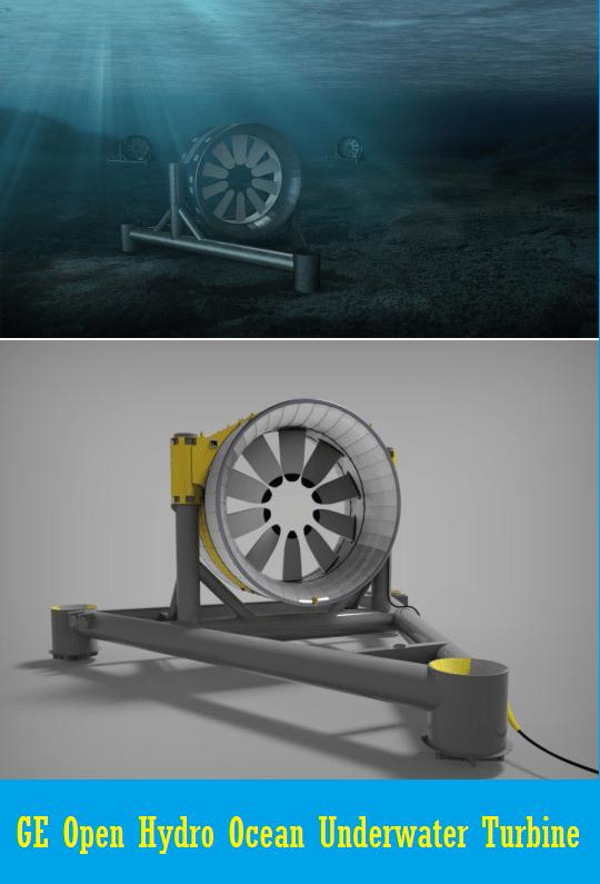 Ge Openhydro Underwater Turbine