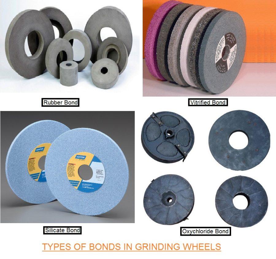 Grinding Wheel Bond Types - Grinding Wheel Bonding Material - Bond Grade