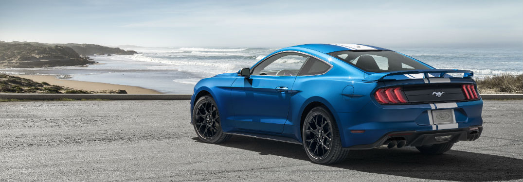 2019 ford mustang engines