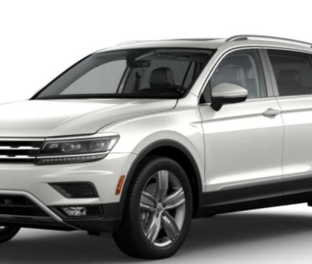 Volkswagen Tiguan Color Choices