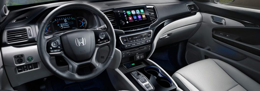 How Much Space Is There Inside The New 2019 Honda Pilot
