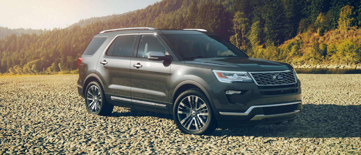 Platinum Ford 2017 Explorer Colors