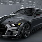 Front View Of A 2020 Ford Mustang Shelby Gt500 O Brandon Ford
