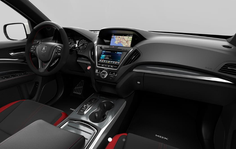 2019 Acura MDX Interior And Exterior Color Options Bill