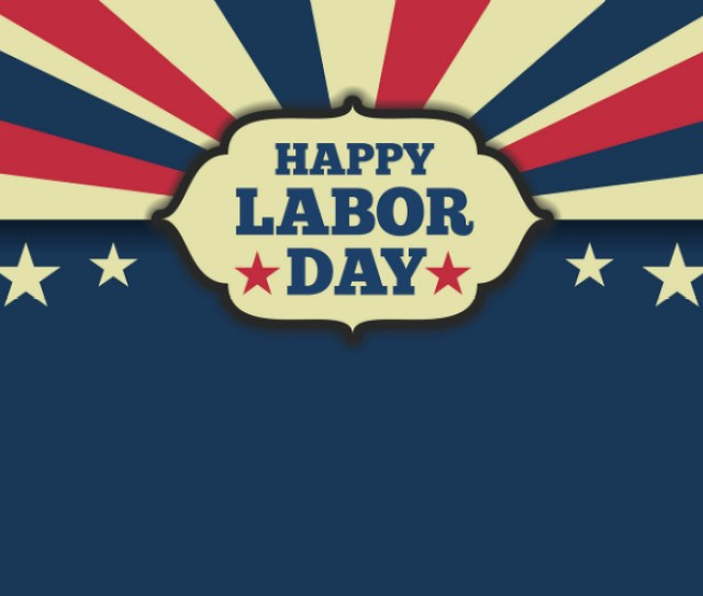 Festivals And Concerts Over Labor Day American Flag Colors With Happy Labor Day Text