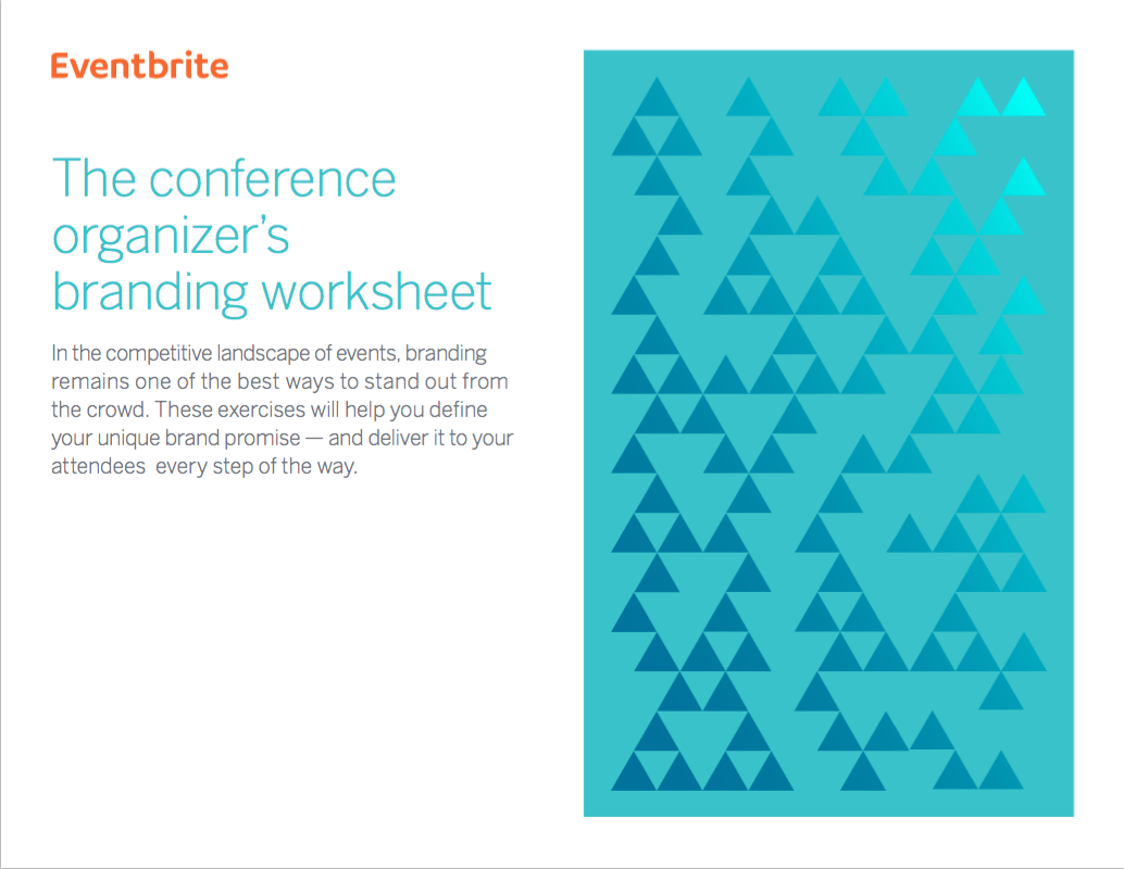 Conference Organizer S Branding Worksheet