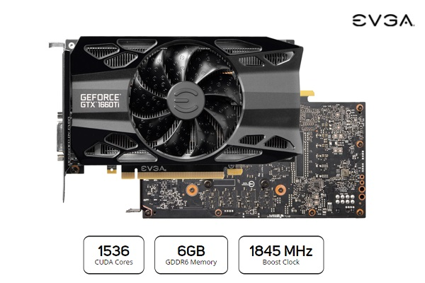 06G-P4-1263-KR EVGA GeForce GTX 1660 Ti Graphics Card