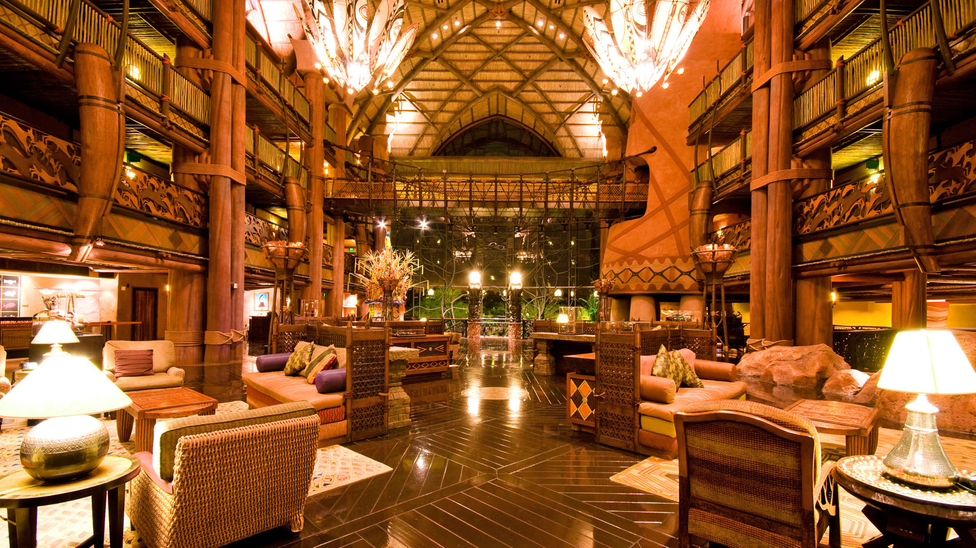 Animal Kingdom Lodge Conducting Cashless Pilot Through