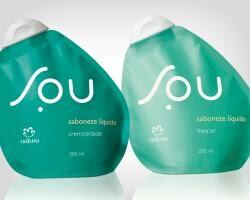 sabonete liquido frescor natura sou
