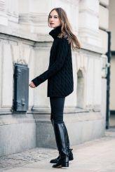 bota montaria look all black