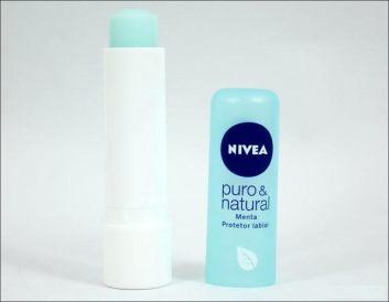 protetor labial niveia puro e natural
