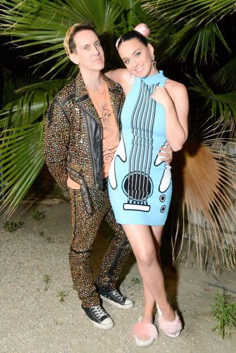 Jeremy Scott e Katy Perry