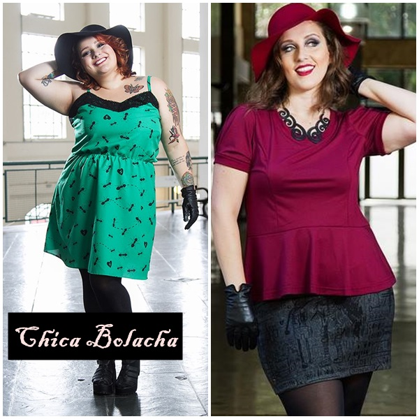 Chica Bolacha pinup plus size