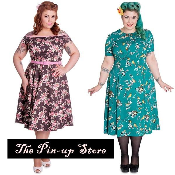 vestido pinup plus size 1