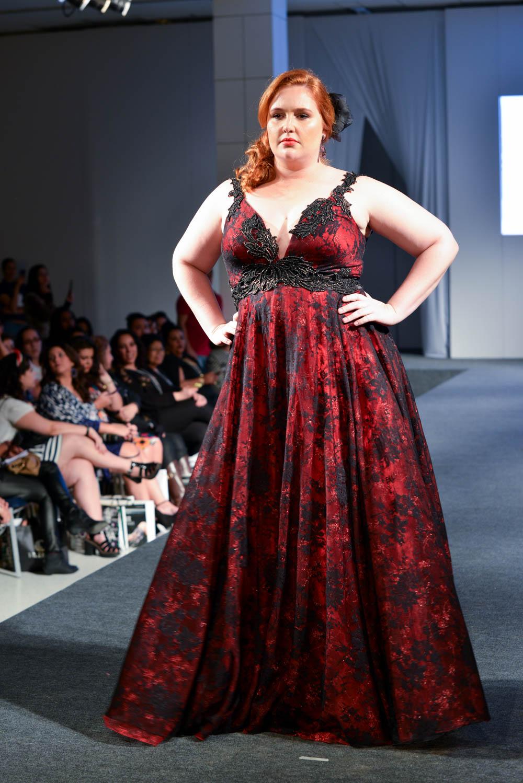 vestido de festa plus size 23