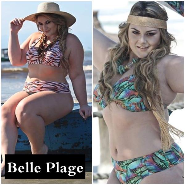 Belle Plage bazar plus size do blog mulherão