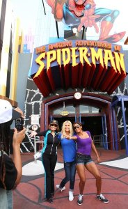 Celebrity Apprentice at Spiderman Exhibit at Universal Orlando courtesy NBC