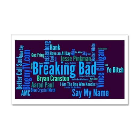 Great Memories of Breaking Bad Favorite Quotes in a Wall Decal