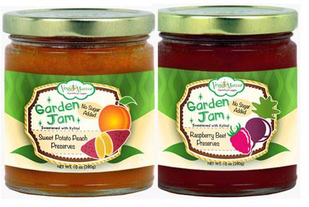 Veggie Mama Garden Jam  Sweet Potato Peach and Berry beet veggies kids eat