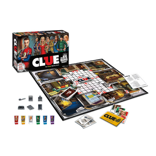 The Big Bang Theory Clue Game Great Gift - Very Cool
