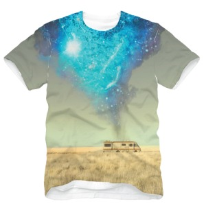 Official Breaking Bad RV T-shirt  A must have for Fans
