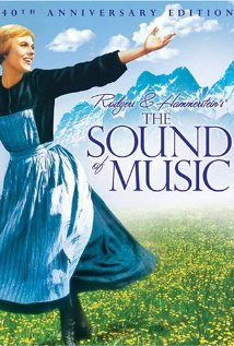 Poster for the 40th Anniversary of the Sound of Music with Julie Andrews