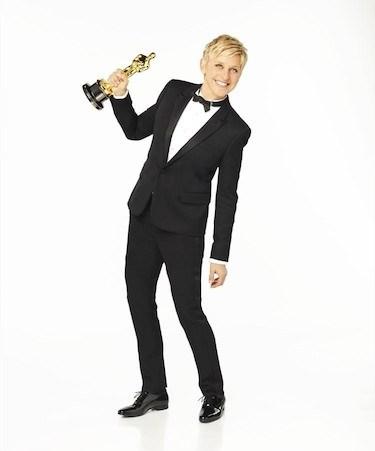 Ellen Holding Oscar