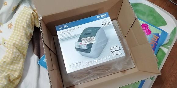 ブラザー ラベルプリンター QL-800!