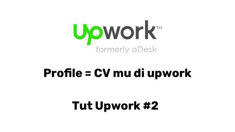 Setup profile di upwork