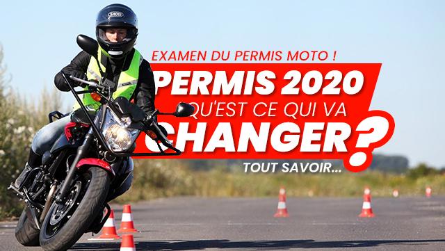 Nouveau Permis Moto 2020 : Tout savoir