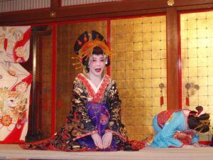 Представление в деревне самураев