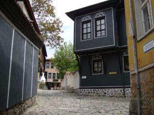 Пловдив. На улицах Старого Города.