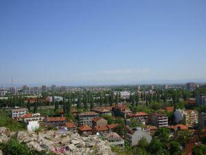Пловдив. С холма.