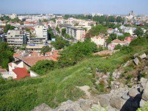 Пловдив. Вид с холма.