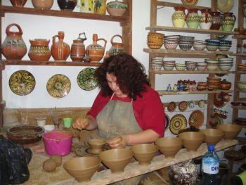 Велико-Тырново. В гончарной мастерской.