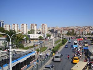 Современные районы Стамбула.
